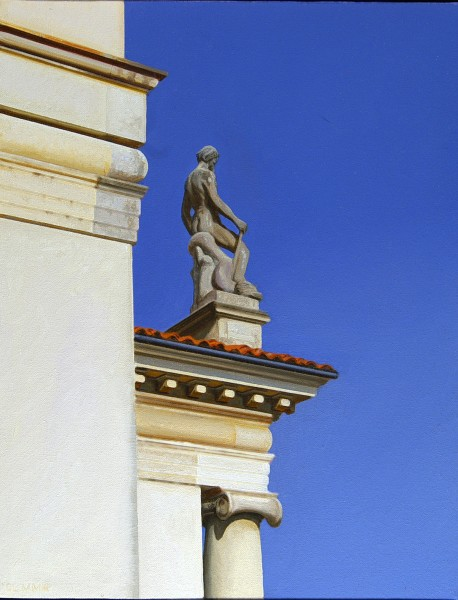 Pediment Sculpture, Villa Rotunda