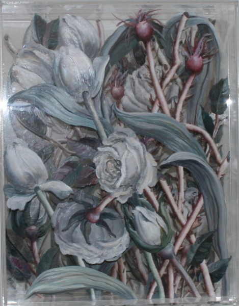 Flower Perspex Box