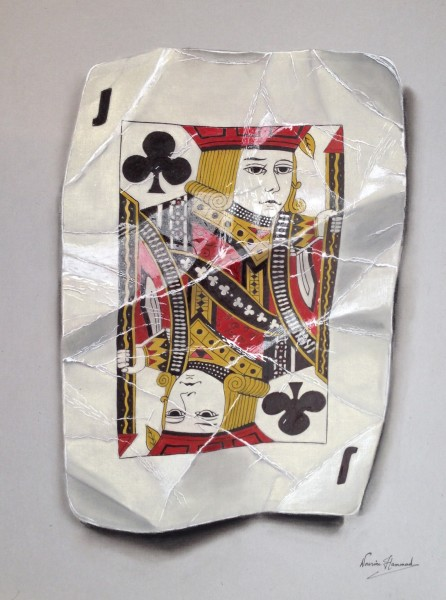 Nourine Hammad, Playing Cards (Jack)