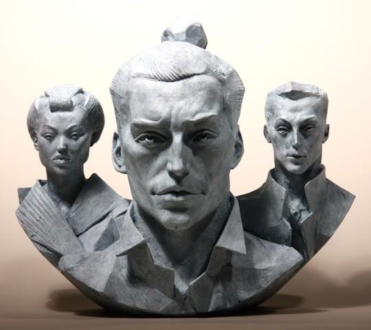 Paul Day Turning Japanese Bronze 1/8 34 x 41 x 16 cm