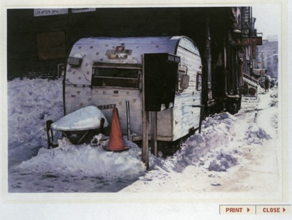 John Salt, Winter, Mott Street