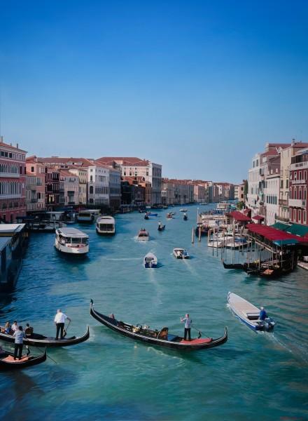 Christian Marsh, Rialto Bridge, Venice