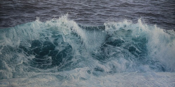 Antonis Titakis Seascape Oil on canvas 100 x 200 cm