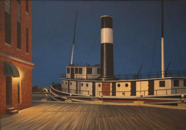 Simon Harling, John Wannamaker' at Portsmouth, NH, Night