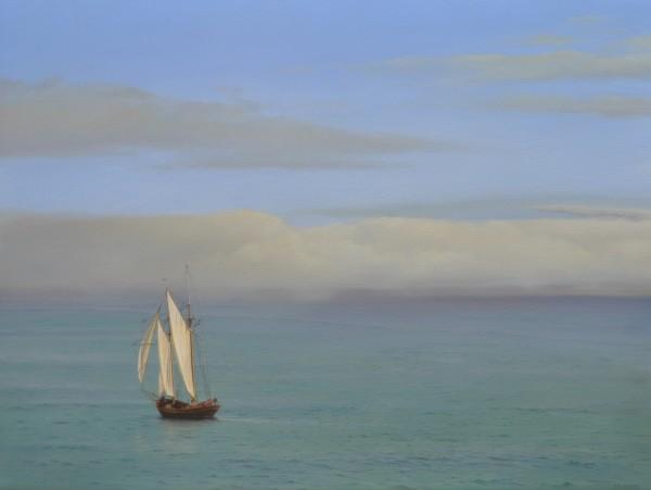 Carl Laubin, Topsail schooner, St. Ives 3