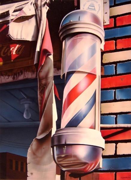 Rudy Sparkuhl, Barber Pole