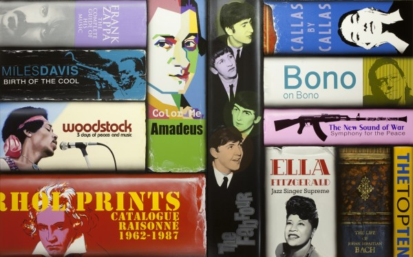 Paul Beliveau Vanitas 15.09.28 History of Music Acrylic on Canvas 152 x 244 cm