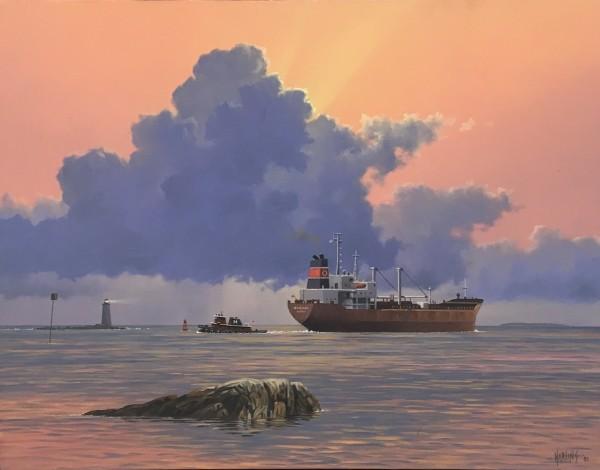 Simon Harling, Morning Light, Departure of 'Patricia'