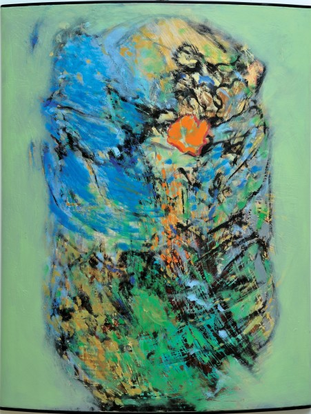 Rashid Al Khalifa, A Homage to Fragmented Abstraction I, 2003