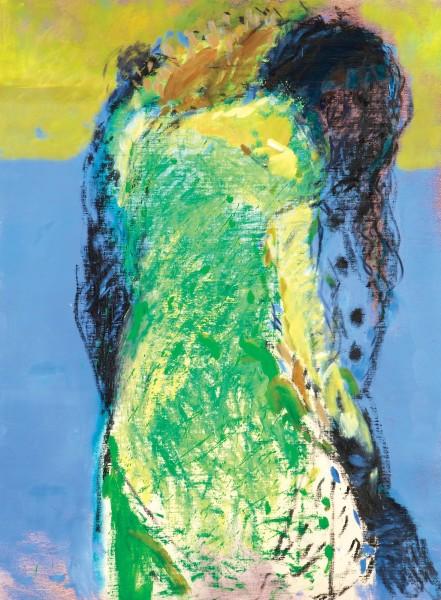 Rashid Al Khalifa, Fragmented Figures II, 2008
