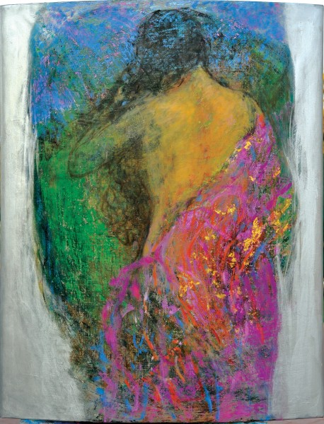 Rashid Al Khalifa, Fragmented Figures III, 2008
