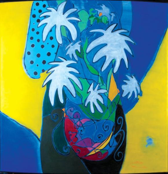 Rashid Al Khalifa, Fragmented Abstraction I (2), 1999