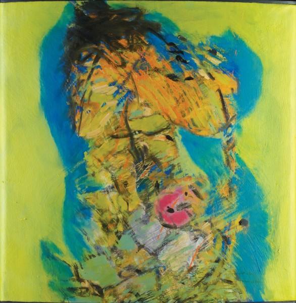 Rashid Al Khalifa, A Homage to Fragmented Abstraction II, 2006