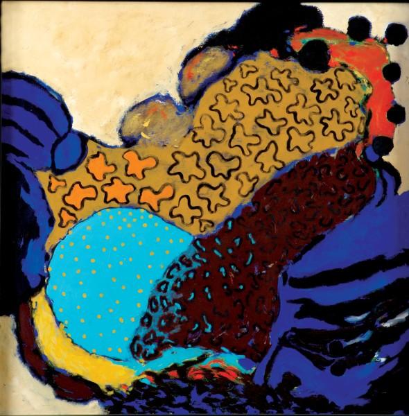 Rashid Al Khalifa, Metamorphosis V, 1998
