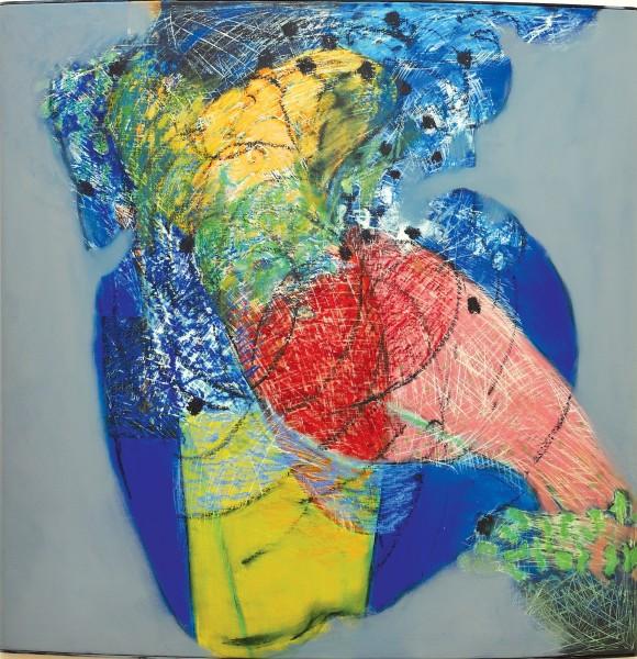 Rashid Al Khalifa, A Homage to Fragmented Abstraction III, 2007