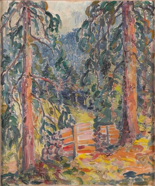 Harry Phelan Gibb, paysage, c.1911