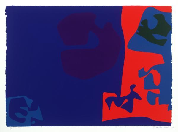 Patrick Heron, January 1973: Plate 18, 1973