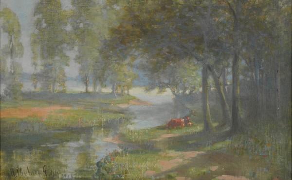 Harry Phelan Gibb, St. Ouen on the Seine, 1906