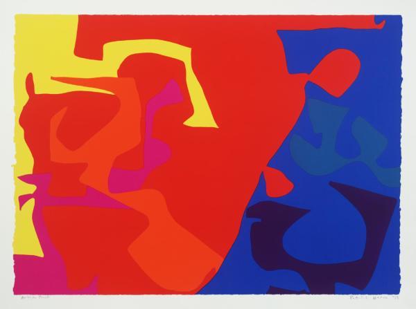 Patrick Heron, January 1973: Plate 5, 1973