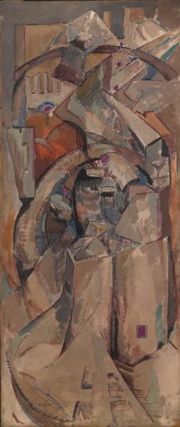 Harry Phelan Gibb, Untitled (cubist composition), c.1910