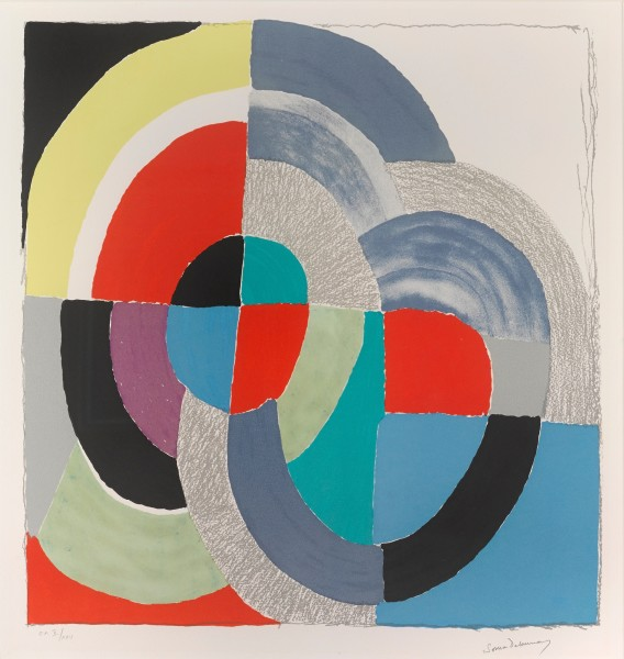 Sonia Delaunay, Russian Easter, 1970