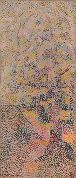 Harry Phelan Gibb, Untitled (pointillist composition), c.1910