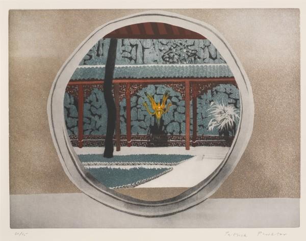 Patrick Procktor, Yellow Dragon Cave, Hangchow, 1980 £3,000.00