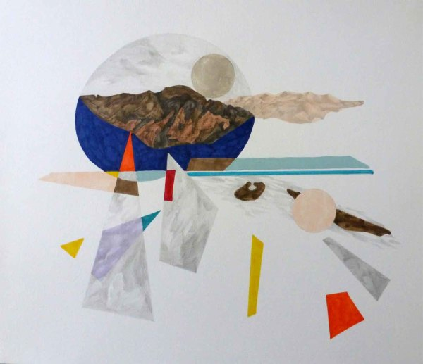 Patricia Sandonis, Landscape Splash IV, 2015