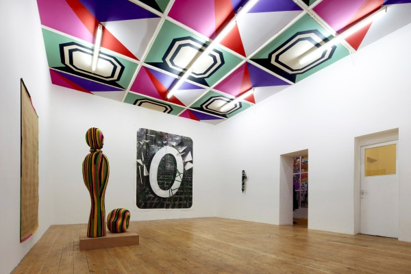 Sinta Tantra, Gentlemen Prefer Blondes (ceiling), 2011