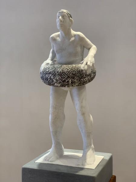 Michael Quane RHA, Figure with Buoyancy