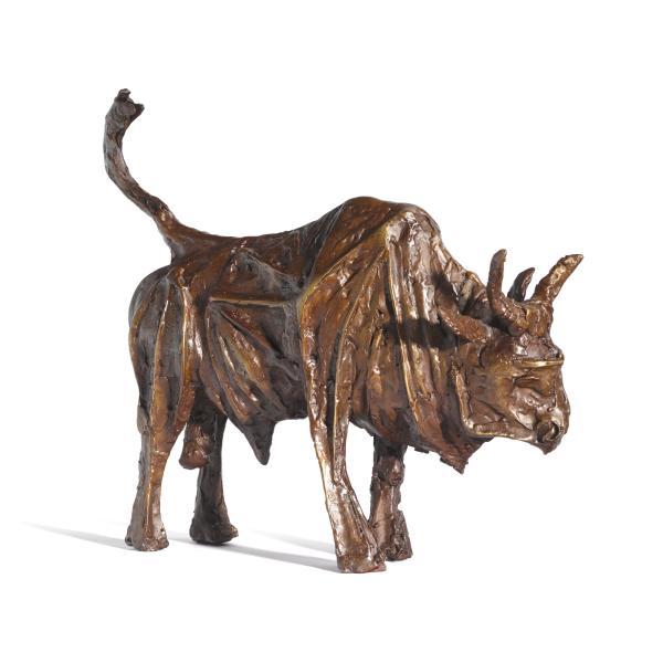 John Behan RHA, School Boy (Seven Ages of Bull)