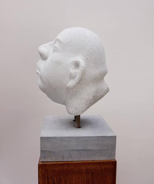 Michael Quane RHA, Head Study (marble)