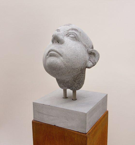 Michael Quane RHA, Head Study