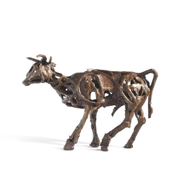 John Behan RHA, Lean & Slippered (Seven Ages of Bull)