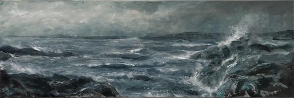 David KIng, Coast Series: Breakers II (study)