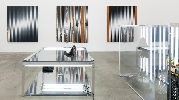 Martin Basher, Installation view, 'A Guide To Benefits', Anat Ebgi Gallery, 2015