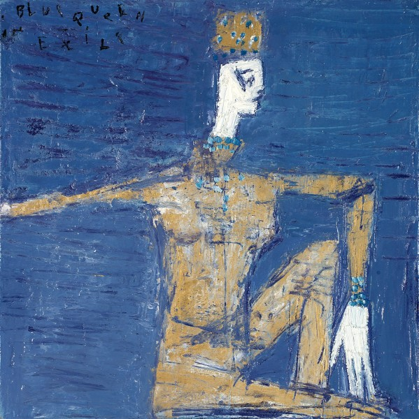 Reza Derakshani, Blue Queen in Exile, 2014