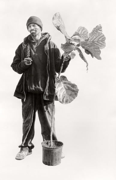 Joel Daniel Phillips, Billy With A Ficus, 2019