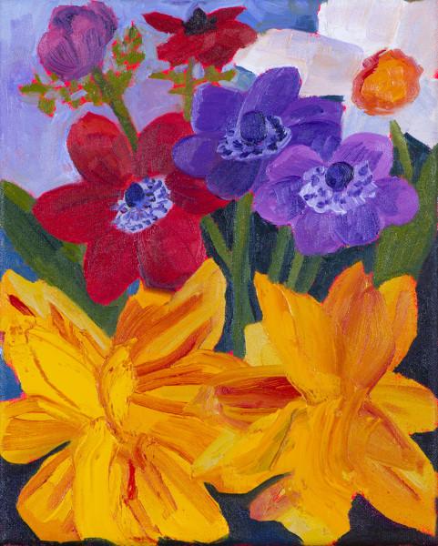 Anna Valdez, Garden Flowers Study, 2017