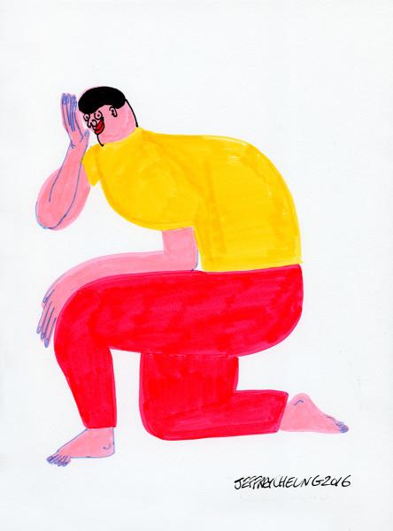 Jeffrey Cheung, Kneel, 2017