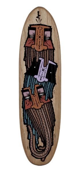 GATS, Skateboard 1, 2018