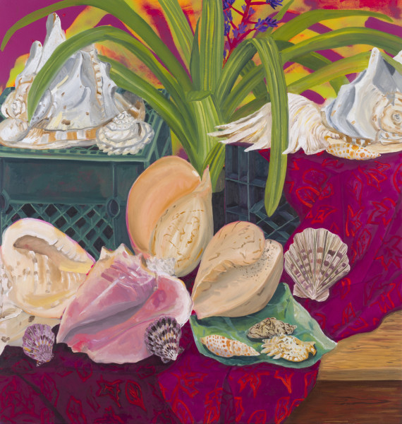 Anna Valdez, Shell Collection, 2018