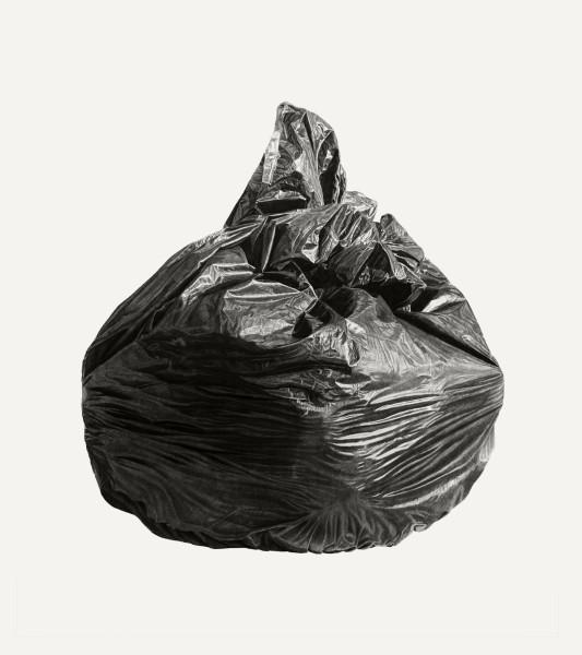 Joel Daniel Phillips, Neighborhood Still Life 7 (Black Bag), 2018