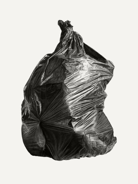Joel Daniel Phillips, Neighborhood Still Life 9 (Black Bag), 2018