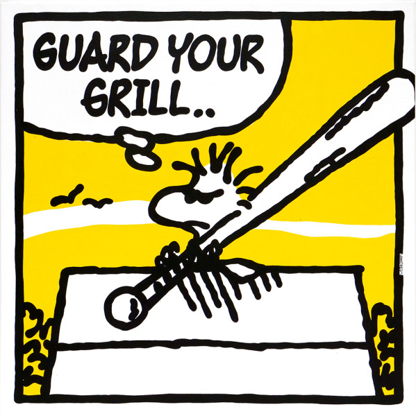 Mark Drew, Guard Your Grill (Naughty By Nature), 2018