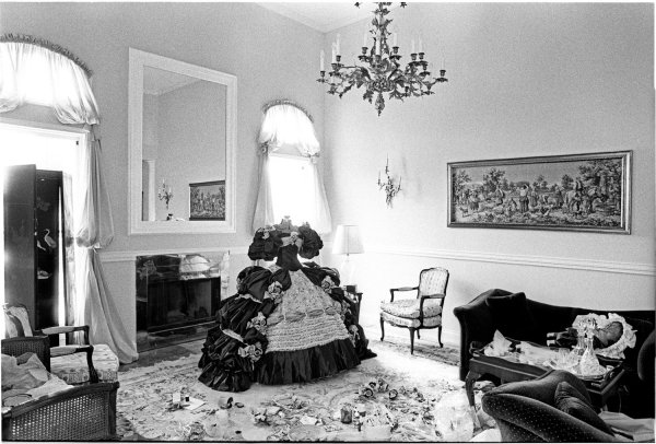 Laura Wilson, Debutante Dress, Laredo, Texas