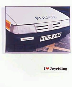 Jeremy Deller, I Love Joyriding