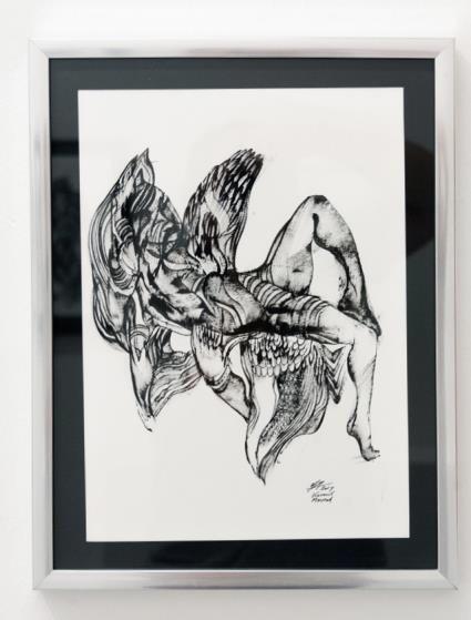 Kevork Mourad, VI Paris Drawings VI - X| , 2019