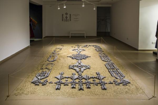naqsh collective, The Bride's Rug , 2017