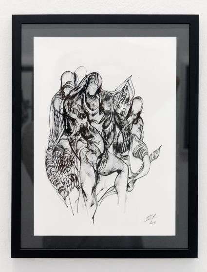 Kevork Mourad, X Paris Drawings VI - X| , 2019